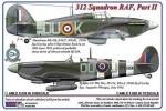 1-72-312-th-Squadron-RAF-Part-II-Hurricane-Mk-IIb-Z3437-DuoK-+-Spitfire-LF-Mk-IXe-PL124-DuoJ