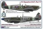 1-72-312-th-Squadron-RAF-Part-VI-Spitfire-LF-LR-MkVc-AR614-DUoZ-2x-+-Spitfire-LF-Mk-IXe-TE523-EV-13