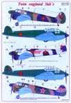 1-48-Decals-Yak-24-and-Yak-6-Twin-engined