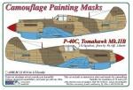 1-32-Curtiss-P-40C-Tomahawk-Mk-IIB-Camouflage-Painting-Masks