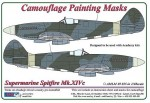 1-48-S-Spitfire-Mk-XIVc-Camouflage-Painting-Masks