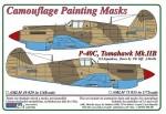 1-48-Curtiss-P-40C-Tomahawk-Mk-IIB-Camouflage-Painting-Masks