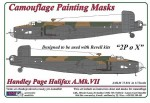 1-72-Handley-Page-Halifax-A-Mk-VII-Camouflage-Painting-Masks