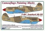 1-72-Curtiss-P-40C-Tomahawk-Mk-IIB-Camouflage-Painting-Masks