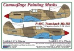 1-72-Curtiss-P-40C-Tomahawk-Mk-IIB-Camouflage-Painting-Masks