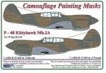 1-72-Curtiss-P-40-Kittyhawk-Mk-IA-Camouflage-Painting-Masks