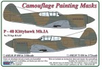 1-72-Curtiss-P-40-Kittyhawk-Mk-IA-Camouflage-Painting-Masks