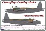 1-72-Vickers-Wellington-Mk-I-camouflage-pattern-paint-mask