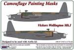 1-72-Vickers-Wellington-Mk-I-camouflage-pattern-paint-mask