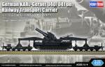 1-72-German-KARL-Geraet-040-041-on-Railway-Transport