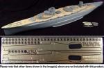 1-350-Japanese-Battleship-Yamashiro-Wooden-Deck-with-Photo-Etched-Parts-for-Fujimi