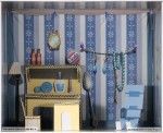 Pit-Road-Pair-Dot-Stylet-Room-Frame-Arms-Girl-Doll-House-Collection