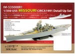 1-350-USS-Missouri-Circa-1991-Detail-Set-for-Tamiya