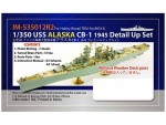 1-350-USS-Alaska-CB-1-1945-Detail-Up-Set-without-Wooden-Deck-Parts-for-Hobby-Boss