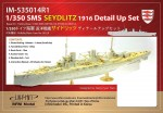 1-350-German-Navy-Battlecruiser-SMS-Seydlitz-Detail-Up-Set-for-Hobby-Boss