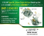 1-35-IJN-Type-96-25mm-Twin-AA-Gun-Detail-Up-Set-for-Pit-Road