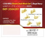 1-350-WWII-Electric-Deck-Winch-Set-C-Royal-Navy