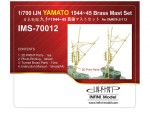 1-700-IJN-Yamato-1944-45-Brass-Mast-Set-for-Tamiya-31113