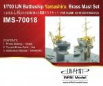 1-700-IJN-Battleship-Yamashiro-Brass-Mast-Set-1938-1941-1944-for-Fujimi