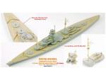 1-700-Bismarck-Brass-Mast-and-Ultra-Slim-Wooden-Deck-Set-0-1mm-for-Pit-Road