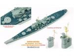 1-700-USS-Missouri-Brass-Mast-and-Ultra-Slim-Wooden-Deck-Set-0-1mm-Deck-Blue-for-Tamiya