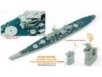 1-700-USS-Iowa-Brass-Mast-and-Ultra-Slim-Wooden-Deck-Set-0-1mm-Deck-Blue-for-Tamiya