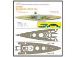 1-700-Ultra-Slim-Wooden-Deck-Series-German-Battleship-Tirpitz-1944