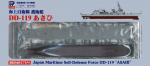 1-700-JMSDF-Destroyer-DD-119-Asahi-Pre-Painted-Plastic-Model