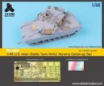1-48-U-S-Main-Battle-Tank-M1A2-Abrams-Detail-Up-Set-for-TAMIYA-32592