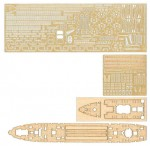 1-700-IJN-Food-Supply-Ship-Irako-Photo-Etched-Parts-with-Wooden-Deck