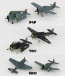 1-350-WWII-US-Navy-Aircraft-Set-4