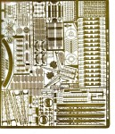 1-350-US-North-Carolina-Class-Photo-Etched-Parts-Trumpeter