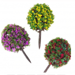 3-PCS-Ker-fialovy-zluty-a-cerveny-Bush-Purple-yellow-and-red-35cm