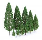 Sada-Smrku-5-cm-az-15-cm-Set-of-Spruces-9-ks-psc