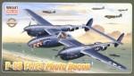RARE-1-48-P-38F-4-F-5-Photo-recon-with-sharks-head