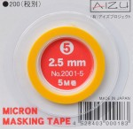 Micron-Masking-Tape-2-5mm-x-5m-maskovaci-paska