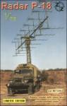 1-72-P-18-Soviet-radar-vehicle-plastic-resin-pe