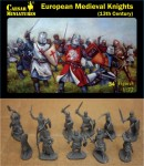 1-72-European-Medieval-Knights-13th-Century