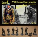 1-72-German-Panzergrenadiers-WWII-in-Winter-Greatcoat-Eastern-Front