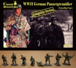 1-72-German-Panzergrenadier-wearing-Camouflage-Capes-WWII