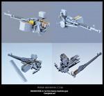 1-35-DSK-m-127mm-heavy-machine-gun-Complete-set