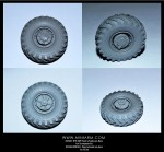 1-35-BTR-60P-Road-wheels-set8pcs-For-Trumpeter-kit