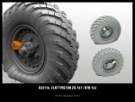 1-35-Flat-tyre-for-ZiL-157-BTR-152-2pcs