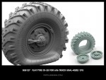 1-35-Flat-tyre-OI-25-for-6X6-Truck-URAL-4320-375