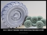 1-35-Wheel-set-Omskshina-Soviet-version-for-6X6-Truck-Kamaz-4310-erly