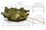 1-35-Turret-Berezhok-metall-gun-barrel-for-BMP-2-and-IFV-Bumerang