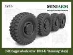 1-35-Sagged-wheel-set-for-BTR-K-17-Bumerang-8pcs