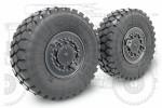 1-35-Sagged-wheel-set-KamAZ-Tuphoon-K-4386-VDV-4pcs