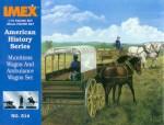 1-72-Munitions-Wagon-and-Ambulance-wagon