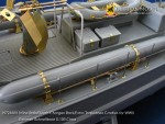 1-72-Mine-Rails-Depth-Charges-Rack-Extra-Torpedo-Cradles-for-WW-II-German-Schnellboot-S-100-Class